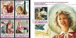Djibouti 2020, Cinema, Eva Gabor, 4val +BF - Acteurs