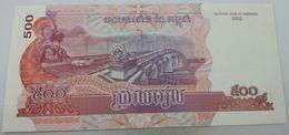 Billete Camboya. 500 Riels. 2004. Sin Circular - Cambodge
