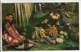 Cpa Les Delicieux Fruits De Tahiti - Polynésie Française