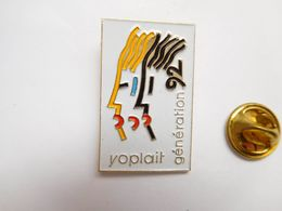 Beau Pin's , JO , Jeux Olympiques  Albertville  92 , Yoplait - Jeux Olympiques