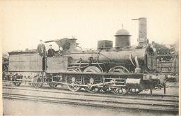 "CPA Train - 1215 - Locomotives Du Nord - Machine Tender N°3799 ""Ville De Béthune"" - Bethune"
