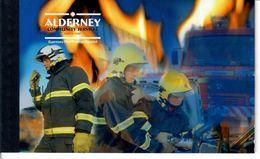 ALDERNEY 2004 - VIGILI DEL FUOCO - LIBRETTO BOOKLET N.14 - Alderney