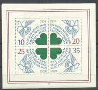 """DDR Bl.75 """"Neujahr 1984"""" Postfrisch.Mi 2,20 - Blokken"""