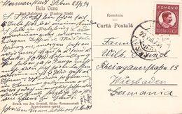 ROMANIA - ANSICHTSKARTE 1934  - WIESBADEN /T245 - Briefe U. Dokumente