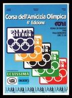 CORSA DELL'AMICIZIA OLIMPICA ROMA 1990 - OLYMPIC DAY RUN - Athletics