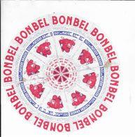 ETIQUETTE  DE  FROMAGE   BONBEL VACHE QUI RIT FROMAGERIE BEL - Käse