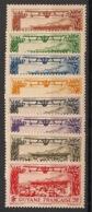 Guyane - 1933 - Poste Aérienne PA N°Yv. 11 à 18 - Série Complète - Neuf Luxe ** / MNH / Postfrisch - Guyane Française (1886-1949)