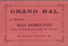 GRAND BAL HOTEL BURELOUX - Cartes
