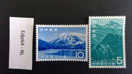 1965 Japan Natuurpark Shiretoko - Unused Stamps
