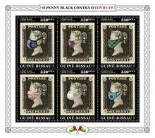 GUINEA BISSAU 2020 - Penny Black COVID-19. Official Issue [GB200317] - Guinea-Bissau