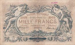 Belgium 1000 Francs 1911 - [ 2] 1831-... : Belgian Kingdom