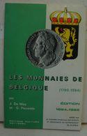 Liv. 403. Les Monnaies De Belgique De 1970 à 1984 - Books & Software