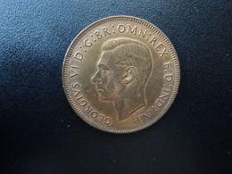 AUSTRALIE * : 1 PENNY   1938 (m)   KM 36    SUP+ - Moneda Pre-decimale (1910-1965)