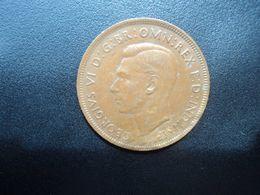 AUSTRALIE * : 1 PENNY   1941 (p) K.G   KM 36    SUP - Moneda Pre-decimale (1910-1965)