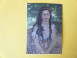 ROUEN. Le Musée Des Beaux Arts. Lise Ou La Bohémienne à L'Ombrelle Par Renoir. - Rouen