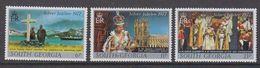 South Georgia 1977 Silver Jubilee Of Queen Elizabeth II 3v  ** Mnh (48602) - Géorgie Du Sud