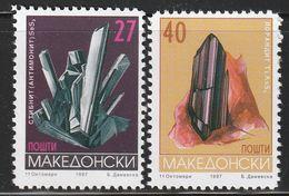 MACEDOINE - N°110/1 ** (1997) Minéraux - Minerals