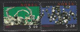 NORVEGE - N°1242/3 ** (1998) Minéraux - Minerals
