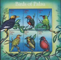 MDB-BK1-033  MINT - POSTFRIS ¤ PALAU 2001 6w In Serie ¤ BIRDS OF PALAU - OISEAUX - BIRDS - PAJAROS - VOGELS - VÖGEL - - Songbirds & Tree Dwellers