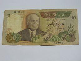 10 Dinars 1986 - Banque Centrale De Tunisie  **** EN ACHAT IMMEDIAT **** - Tunisie