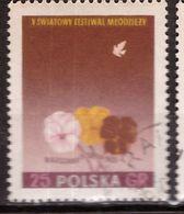 PIA - POLOGNE - 1955 : 5° Festival Della Gioventù E Degli Studenti  A Varsavia  - (Yv  815) - 1944-.... Republic