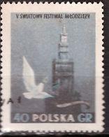 PIA - POLOGNE - 1955 : 5° Festival Della Gioventù E Degli Studenti  A Varsavia  - (Yv  816) - 1944-.... Republic
