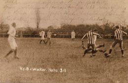 Carte Postale Ancienne CPA /PostKarte – Ansichtskarten AK : V.f.B. Wacker - Halle 3:1 - Football