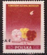 PIA - POLOGNE - 1955 : 5° Festival Della Gioventù E Degli Studenti  A Varsavia  - (Yv  817) - 1944-.... Republic