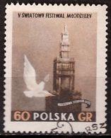 PIA - POLOGNE - 1955 : 5° Festival Della Gioventù E Degli Studenti  A Varsavia  - (Yv  818) - 1944-.... Republic
