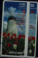 ISRAEL 1995 BEZEQ PHONECARD CARDEX 95 USED VF!! - Israel
