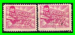 ESPAÑA GUERRA CIVIL CRUZADA CONTRA EL FRIO AÑO 1937 - Impuestos De Guerra