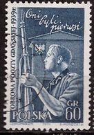 PIA - POLOGNE - 1958 : 19° Anniversario Della Difesa Dell' Ufficio Postale Polacco Di Gadnsk  - (Yv  937) - 1944-.... Republic