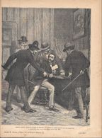 Quattro Italiani, Dietro Il Consiglio Di Mazzini.. (Corelli). Stampa 1891 - Documentos Antiguos
