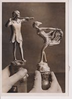 MOTOR MASCOT   PETER PAN AND NINETTE 16*12CM Fonds Victor FORBIN 1864-1947 - Automobiles