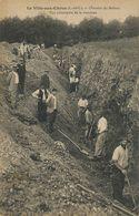 Terrassiers Chantier De Ballast . La Ville Aux Clercs . Tranchée . Earth Labourers . - Craft