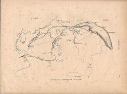 Carta Della Spedizione Di Savoja. Stampa 1891 - Documentos Antiguos
