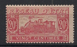 France - 1901 - Colis Postaux - N°Yv. 11 - Train 20c Rose - Neuf Luxe ** / MNH / Postfrisch - Nuovi