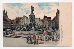- CPA NÜRNBERG (Allemagne) - Neptunbrunnen - Verlag Hermann Martin 1558 - - Nuernberg