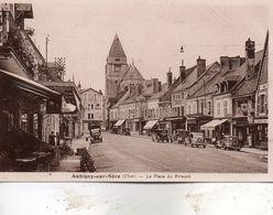 Aubigny  Sur  Nère -    La  Place  Du  Prieuré. - Aubigny Sur Nere