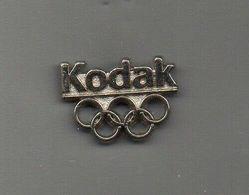 Pin's KODAK JO ALBERTVILLE 92 - Jeux Olympiques