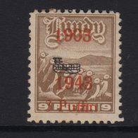 #34 Great Britain Lundy Island Puffin Stamps 1943 Wright Brothers Bi-Plane #61 - Emissione Locali