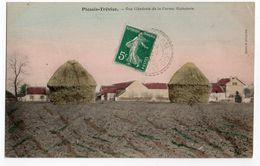 LE PLESSIS TREVISE * VUE GENERALE DE LA FERME RICHEBOIS * édit. Deltour *carte Colorisée - Le Plessis Trevise