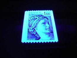 1977/78 - Variété 3 Bandes De Phosphore Sur N° 1981 - Roulette Type Sabine - Neuf ** - 1977-81 Sabine Of Gandon