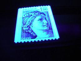 1977/78 - Variété 3 Bandes De Phosphore Sur N° 1981 + Numéro Rouge Au Verso - Roulette Type Sabine - Neuf ** - Unused Stamps