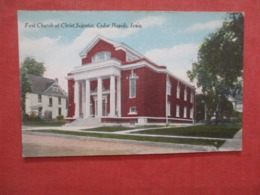 First Church Of Christ Scientist  Iowa > Cedar Rapids    Ref 4210 - Cedar Rapids