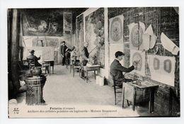 - CPA FELLETIN (23) - Maison Bournaret - Ateliers Des Artistes Peintres En Tapisserie (belle Animation) - - Felletin