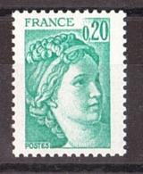 Type Sabine N° 1967c : Sans Phosphore, Gomme Brillante - Neuf ** - Varieties: 1970-79 Mint/hinged