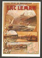 Carte P ( Lac Léman / Navigation ) - VD Vaud
