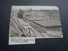 """Origineel Knipsel ( 5148 ) Uit Tijdschrift """" Zondagsvriend """"  1936 :   Ostende   Oostende - Vieux Papiers"""