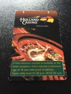 Hotelkarte Clef De Hotel Tarjeta Hotel Room Key  HOTEL    HOLLAND CASINO SCHEVENINGEN - Phonecards